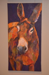 Colorful Donkey by Annalee Schubert